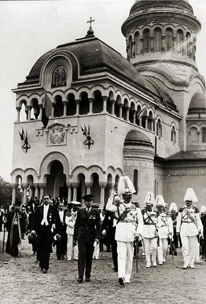 Vizita M.S. Regelui Carol al II-lea la Bălți