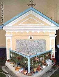 Capriana - Mormântul Bănulescu Bodoni