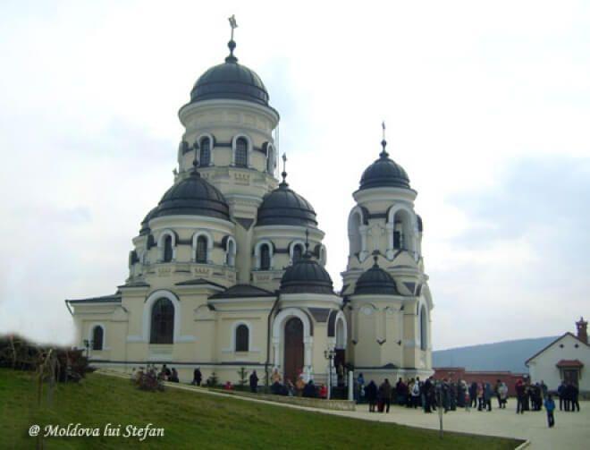 mănăstirea Căpriana - Biserica de vara