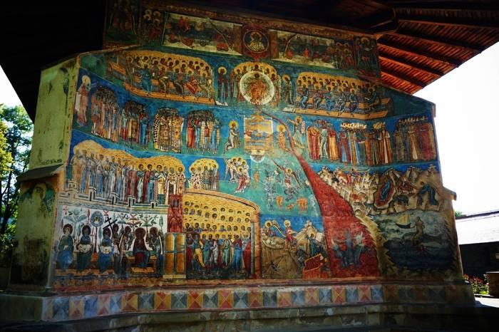 Judecata de apoi - Mănăstirea Voroneț