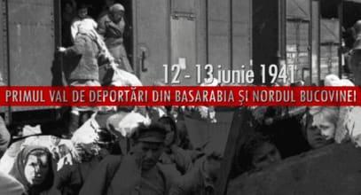 12 - 13 iunie 1941: Primul val de deportări staliniste din Basarabia